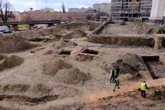 Árpád-kori temetőt találtak a nagyváradi vár közelében zajló ásatás során