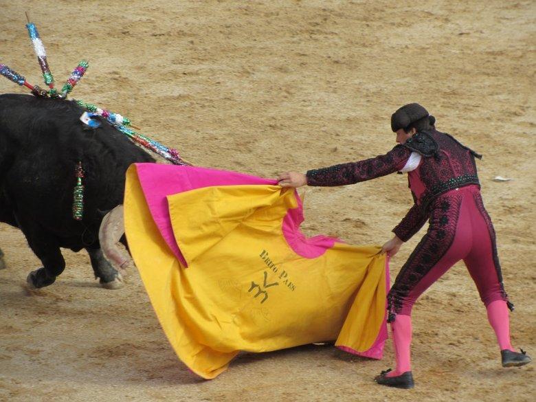 Másfél év szünet után újra megrendezték Madridban a bikaviadalt