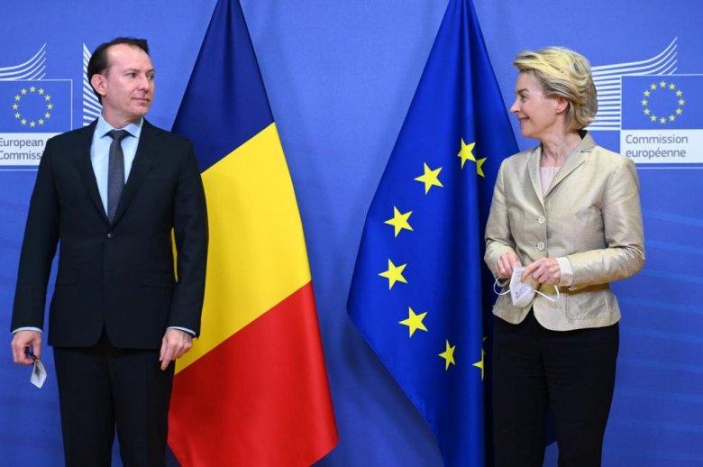 """Cîțu """"megnyugtatta"""" Európát, Románia a teljes összeget lehívja az uniós helyreállítási alapból"""