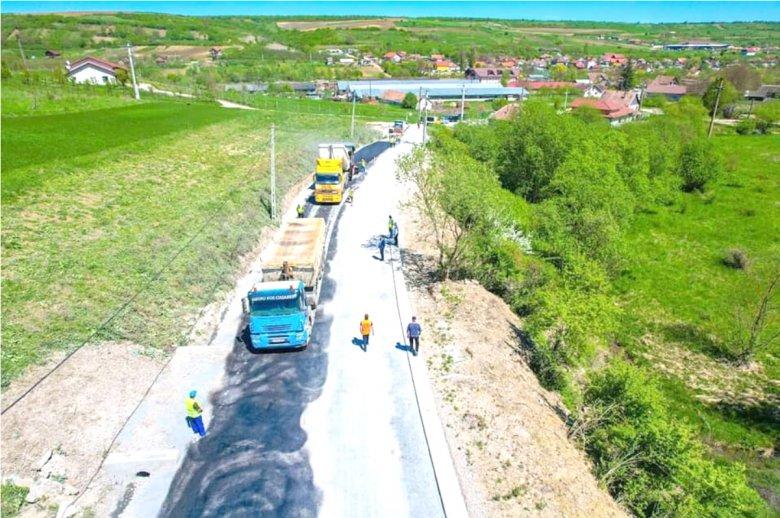 Jól halad a Mócvidéket átszelő alpesi műút építése
