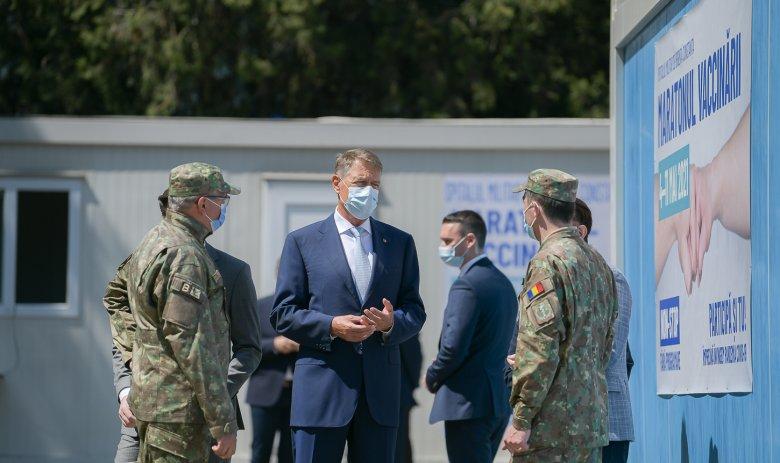 Iohannis jóslata: csütörtökön meg fogja haladni a 100 ezret a napi beoltottak száma