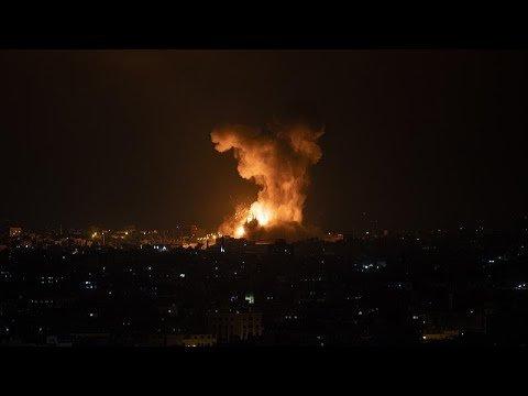 """Heves """"rakétaháborúval"""" folytatódott éjszaka a palesztin szélsőségesek és Izrael közötti konfliktus"""