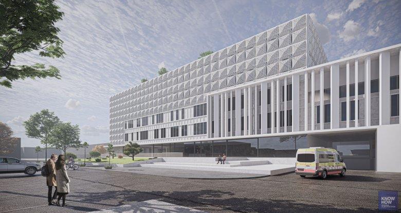 Váradon épülne fel az ország legkorszerűbb kórháza