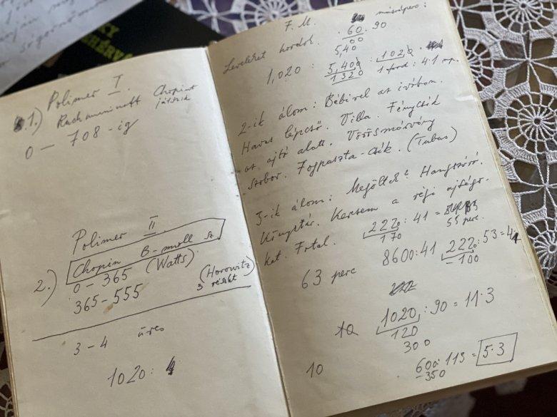 Ismeretlen Pilinszky-kézirat került elő, a jegyzetek a költő álmairól is szólnak