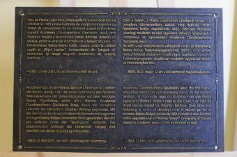 Közösen ünnepelte a 440 éves kolozsvári felsőoktatást a BBTE és a Szegedi Tudományegyetem