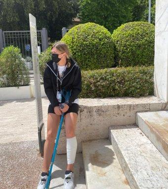 Izomszakadása miatt kérdéses Simona Halep részvétele a Roland Garroson