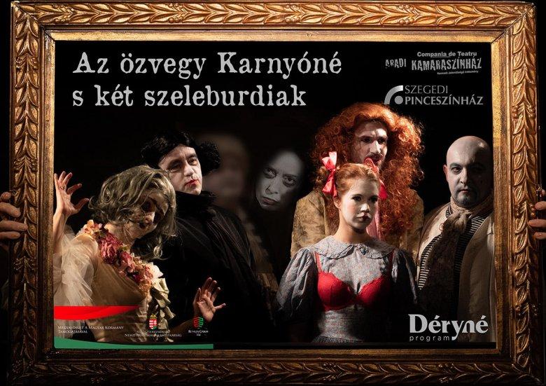 Szegedi színészekkel indul újabb szórványkaravánra az Aradi Kamaraszínház