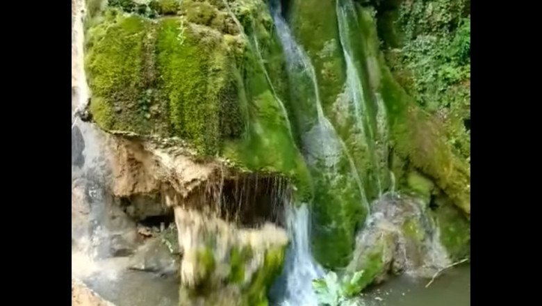 Leszakadt a bánsági Bigér-vízesés kőtömbje