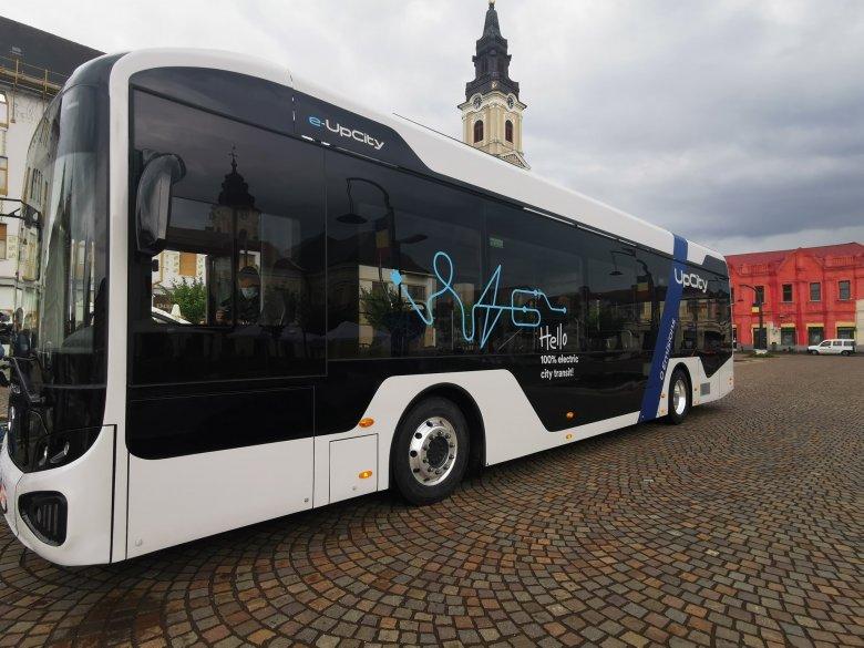 Nagyvárad utcáin lesz látható a legelső romániai gyártású elektromos autóbusz
