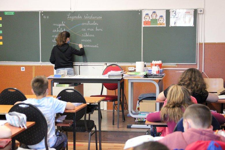 Szerdától személyes részvétellel zajlik  a tanítás a székelyudvarhelyi tanintézményekben