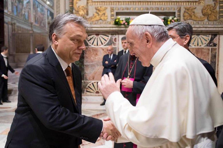 Ferenc pápa találkozik Orbán Viktorral és Áder Jánossal, a püspöki konferencia elítélte az álhíreket