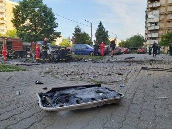 Arad megye prefektusa elrendelte a közrendvédelmi intézkedések növelését az autórobbantás nyomán
