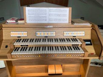 Új orgonával gazdagodtak a bukaresti reformátusok