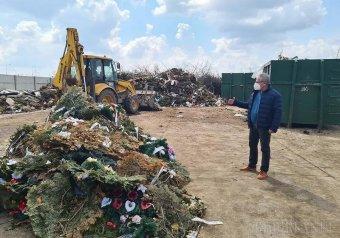 Perre mehetnek a műanyag halotti koszorúk betiltása miatt, ragadós lehet a nagyváradi példa