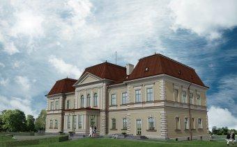 Elkezdődtek a válaszúti Bánffy-kastély felújítási munkálatai