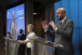 """Charles Michel: az EU nem tűri az """"orosz rulettet"""" ártatlan polgárok életével"""