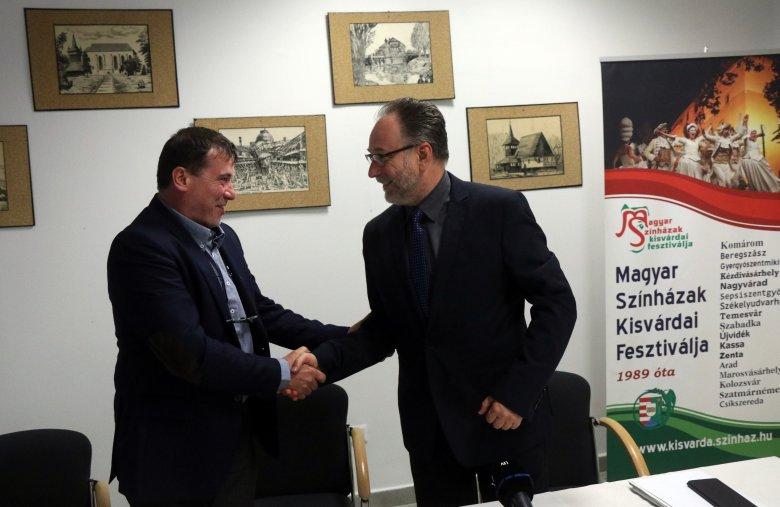 A Nagyváradon tervezett átszervezések is terítékre kerültek a magyar és a román kormány kulturális államtitkárának találkozóján