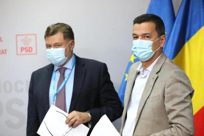 A kormányfőként saját pártja által megbuktatott Sorin Grindeanu terjesztette elő a PSD bizalmatlansági indítványát