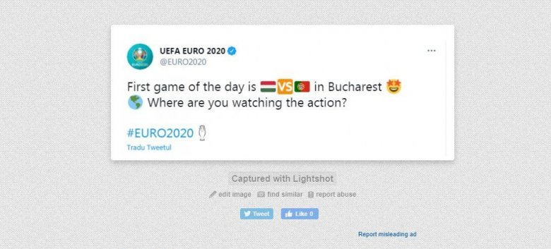 """Bukarestbe """"költöztették"""" a magyar–portugál Eb-meccset"""