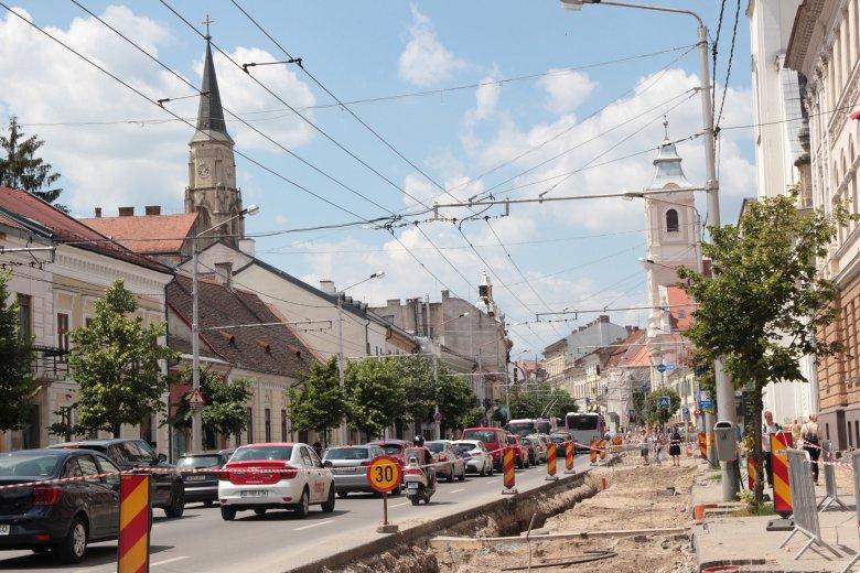 Megújul a kolozsvári belváros: kezdődik a Farkas utca és környékének felújítása, előnyben a gyalogosok