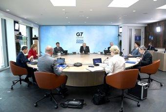 Közös nyilatkozatot fogadnak el az újabb súlyos járványok megelőzéséről a G7-csúcs résztvevői