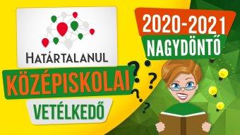 Lehet szurkolni a Határtalanul középiskolai vetélkedősorozat erdélyi nagydöntőseinek