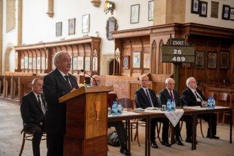 Kató Béla a felborult gyülekezeti élet helyreállítását szorgalmazta az Erdélyi Református Egyházkerület közgyűlésén