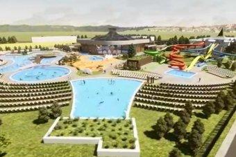 Toldival szállna be Nagyszalonta a térség élményfürdőinek versenyébe (VIDEÓ)