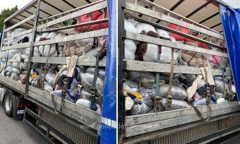 Már a román-magyar határon is becsempésznék az illegális szemetet