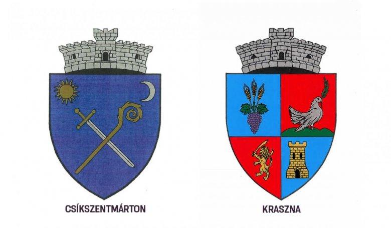 Csíkszentmárton és Kraszna is új címerrel büszkélkedik a kormány döntése szerint