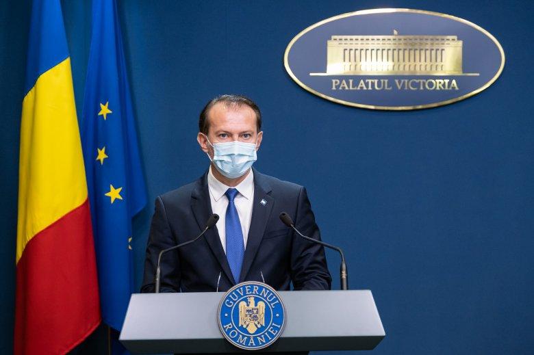 Bankot is átverhetett Florin Cîţu kormányfő az Egyesült Államokban