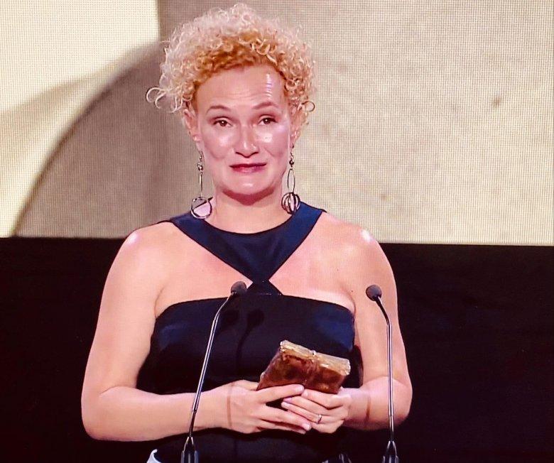 Kató Emőkét és a székelyudvarhelyi teátrumot is díjazták az UNITER-gálán