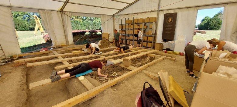 Gazdag leletanyagot találtak a régészek a mohácsi csata egykori helyszínén