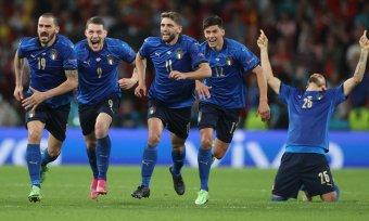 EURO-2020 – Olaszország az első döntős, az M4Sport lekódolta a büntetőpárbajt