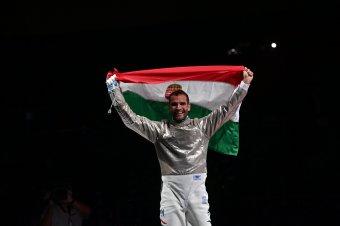 Megvan az első magyar arany! Szilágyi Áron sorozatban harmadszor olimpiai bajnok kardvívásban