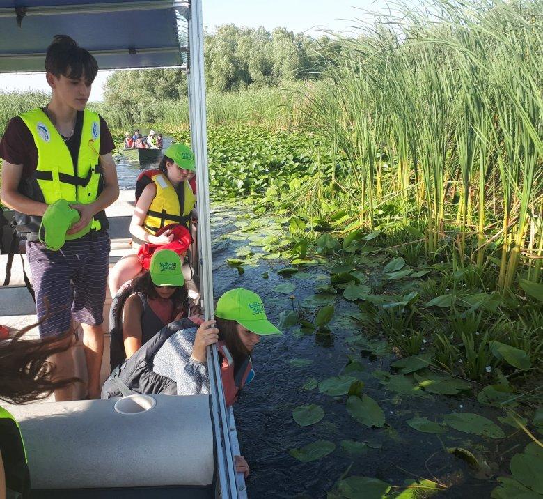 A Duna-delta kincseit fedezték fel a bölcs diákok