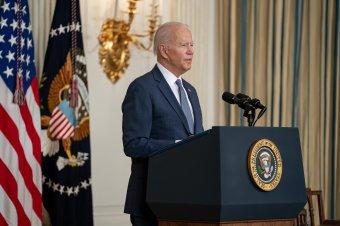 Biden kiáll a döntése mellett, szerinte az afgánok nem hajlandók megvívni a saját háborújukat