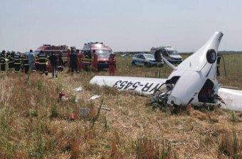 Lezuhant egy kisrepülőgép Bukarest közelében