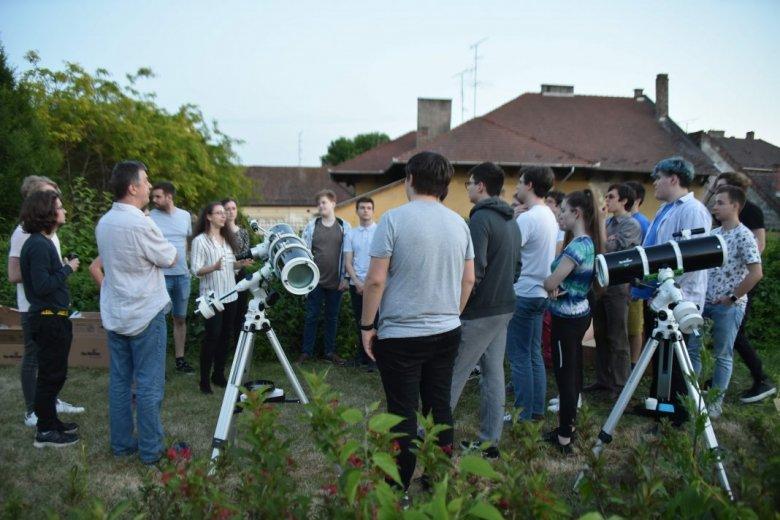 Erdélyi diákokat is várnak az Athletica Galactica csillagászati versenyre