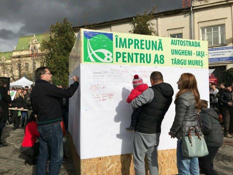 Visszadobta az útügyi hatóság a Marosvásárhely–Târgu Neamţ-sztrádaszakasz megvalósíthatósági tanulmányát