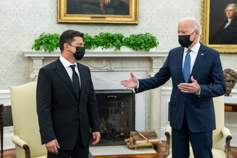 Biden: az Egyesült Államok továbbra is szilárdan kiáll Ukrajna területi integritása mellett az orosz agresszióval szemben