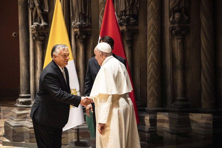 Orbán Viktor: Ferenc pápa ne hagyja elveszni a keresztény Magyarországot