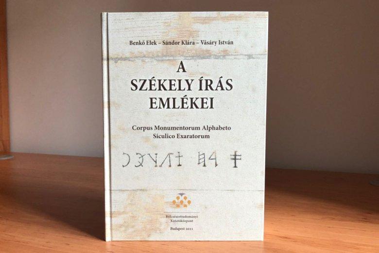 Megjelent a székely írás emlékeit bemutató kötet, amely a további kutatás forrása lesz