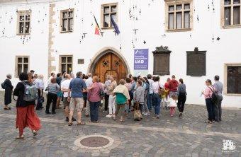 Interaktív, igaz-hamis jellegű sétán elevenedett meg a középkori Kolozsvár