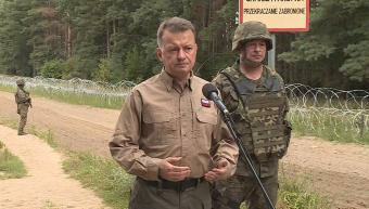 Migráció: Lengyelország kerítést épít a fehérorosz határon