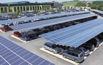 Autók fölött magasló napelemparkot terveznek az új nagyváradi sportcsarnok mellé