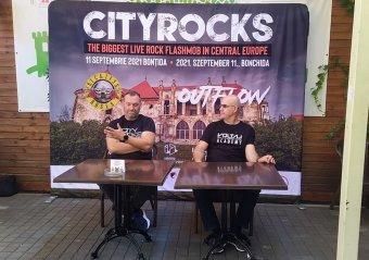 Metallica-, Depeche Mode-slágerek csendülnek fel a CityRocks rockzenei flashmobon Bonchidán