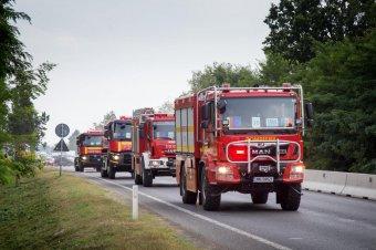 Újabb tűzoltókat küld Románia Görögországba, hogy segítsenek az erdőtüzek megfékezésében