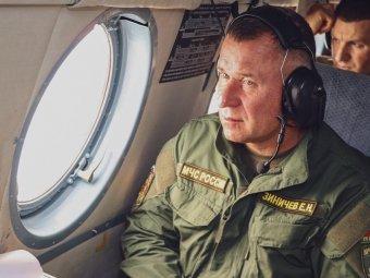 Operatőrt akart menteni, életét vesztette az orosz katasztrófavédelem vezetője