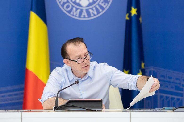 Csalódott a román kormányfő, amiért az egészségügyben magas az oltatlanok aránya